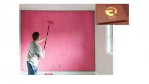 رنگ روغنی سفارشی مخصوص دیوار